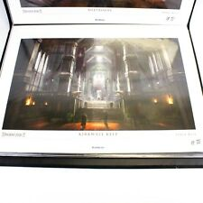 NEW Dragon Age 2 II Kirkwall Keep Lithograph OOP Numbered 465/500