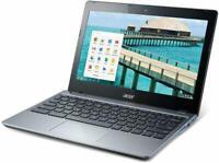 "Acer C720-2844 11.6"" Chromebook Intel Celeron 1.4GHz 4GB 16GB SSD HDMI B Grade"