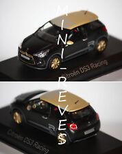 Norev Citroën DS3 Racing 2013 Noir matt & gold 1/43 155288