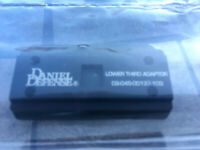 Daniel Defense Mount Lower 1/3 Adapter Aimpoint Micro R1,H1,H2,T1,T2 With Screws