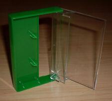 5 Kassettenhüllen Leerhüllen Cassetten MCs Hüllen grün Kassetten Case Neu