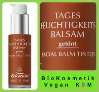 Tagesfeuchtigkeits Balsam Getönt von Dr.Eckstein BioKosmetik Pflege für den Tag