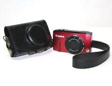 PU Leather camera case bag for Canon powershot SX240 SX260 SX270 SX275 SX280