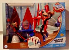 DC Super Hero Girls Harley Quinn Bedroom Set with Exclusive Harley Quinn  MISB