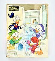 Vintage Whitman Huey, Dewey, & Louie 100 PC Jigsaw Puzzle 4605-45 1980 Ducks