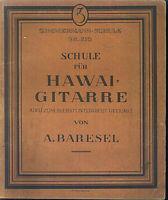 A. Baresel - Schule für HAWAI-GITARRE