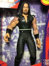 VINTAGE 1997 WWF OFFICIAL TALKING UNDERTAKER FIGURE W/BOX UNUSED WORKS NOS