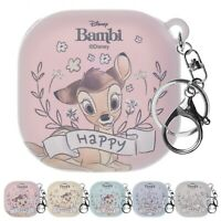 Disney Bambi for Galaxy Buds Pro / Galaxy Buds Live Case Hard Cover Key Ring