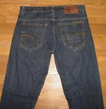 "lange G- STAR RAW  "" 3301 SLIM "" JEANS / Blue- Jeans in dkl.- blau W33"" /L36"""