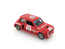 "SOLIDO Renault 5 Turbo with transkit CMM  ""DORIA"" Rally Tour de Corse 86 1/43"