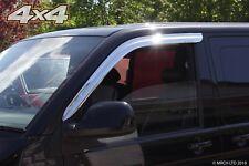 Auto Clover Chrome Wind Deflectors Set for Volkswagen Transporter T5 / T6 (2pcs)