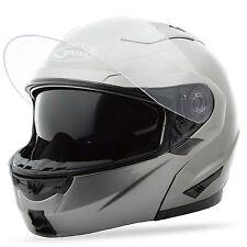 GMAX GM64 Modular Helmet (Titanium) Choose Size