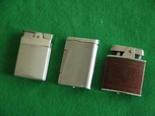 3 VINTAGE RETRO RONSON CIGARETTE LIGHTERS