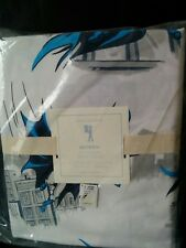NEW Pottery Barn Kids BATMAN CITYSCAPE Twin Duvet Cover only