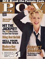 Point Of View Magazine December/January 1999 Jenna Elfman w/ML VG 040416DBE