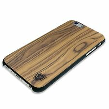 UTECTION iPhone 6 6s Holzhülle Slim-Case Cover Holz Hülle Plasik CRUST Braun
