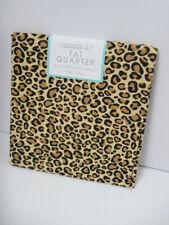Cheetah Animal Print 100% Cotton Fabric Fat Quarter 18