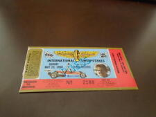 1980 INDY 500 TICKET STUB JOHNNY RUTHERFORD WINNER RICK MEARS PICTURE EX-MINT