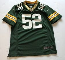 Authentic Nike NFL On Field Green Bay Packers Clay Matthews Youth Jersey