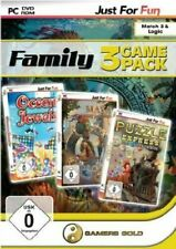 Games for Fun Family Game Pack 1 - Ocean Jewels/Maya/Puzzle Express (PC CD ROM)