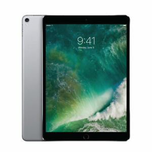 "Apple iPad Pro 2017 A1701 10.5"" 64GB WIFI Space Grey Tablet   B-Grade 6mth Wty"
