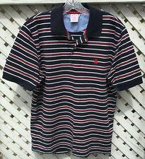 Brooks Brothers Performance Polo Shirt Men's Medium Original Fit Stripes Cotton