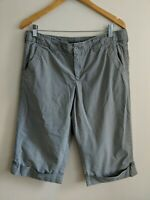For The Republic Crpped Cotton Trousers Size 10 <KK407z