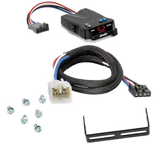 Trailer Brake Control for 03-14 Toyota Tundra w/ Plug Play Wiring Adapter Module