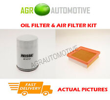 PETROL SERVICE KIT OIL AIR FILTER FOR FORD FIESTA 2.0 150 BHP 2004-09