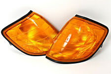 Mercedes S Class W140 91-1999 Amber Corner Lights Turn Signals PAIR OEM