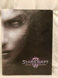 Starcraft 2 Heart of The Swarm, Official Strategy Guide, BradyGames, Hardcover