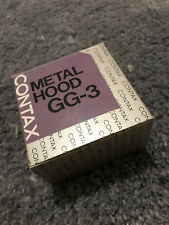 Contax G GG-3 Metal Hood Original New Made in Japan Sealed