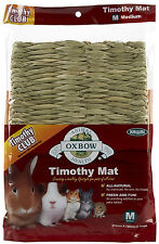 OXBOW ANIMAL HEALTH GRASSY GRASS WOVEN TIMOTHY HAY MAT MEDIUM FREE SHIP TO USA