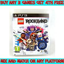 LEGO ROCKBAND Game (Playstation 3, PS3) Australian G Rating