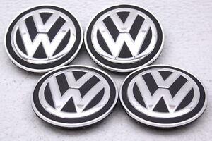 OEM Volkswagen Atlas Tiguan Beetle Golf Passat Center Caps 66mm Set of 4