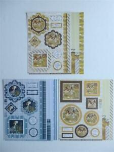 Pollyanna Pickering's Countryside  A4 Fancy Topper, 2 Inserts & 1 Backing Sheet