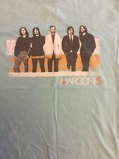 Maroon 5 Pastel Green T Shirt Girls Size Large