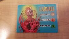 Marvel Overpower Card Game - Heroes and Villains Character cards - Carnage