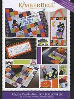 Kimberbell Oh, The Possibilities For Halloween! Pattern Book