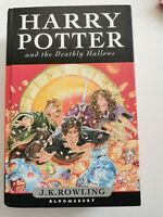 Harry Potter and the Deathly Hallows Bloomsbury First Edition Hardback