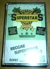 Reggae Superstars Volume 2 / MC / Folie Sealed / Rohit / Cassette Tape Yellowman