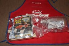 Lowe's Build and Grow--Monster Jam-EL TORO LOCO-Wooden Kit WITH APRON & GOGGLES
