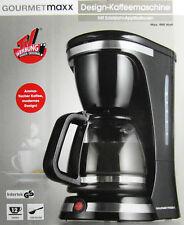 Gourmetmaxx Design Kaffeemaschine 900 Watt mit Edelstahl Applikationen Neu