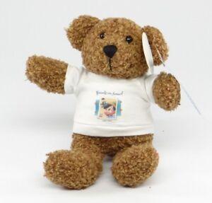 "ART OF DISNEY ~ FRIENDSHIP T-SHIRT BEAR (Pinocchio) ~ 8"" $0.37 USPS Stamp ~ NEW"