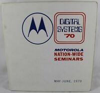 MOTOROLA 80+ Application Notes 3-Ring Binder Circuits Amplifiers Transistors ++
