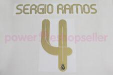 Real Madrid 2011/2012 #4 SERGIO RAMOS Home/Awaykit Nameset Printing