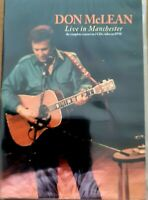 Don McLean - Live in Manchester.  CD and DVD Pack.  Sealed Mint.