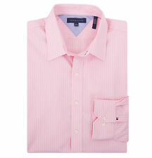 Tommy Hilfiger Men's Long Sleeve Button-Down Stripe Dress Shirt - $0 Free Ship