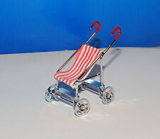 BABY STROLLER DOLLS MINIATURE  1:12-1:18 SCALE NEW !