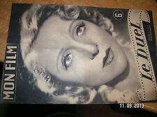 Revue Mon Film n°1 (1946) Le Duel / Paulette Godard